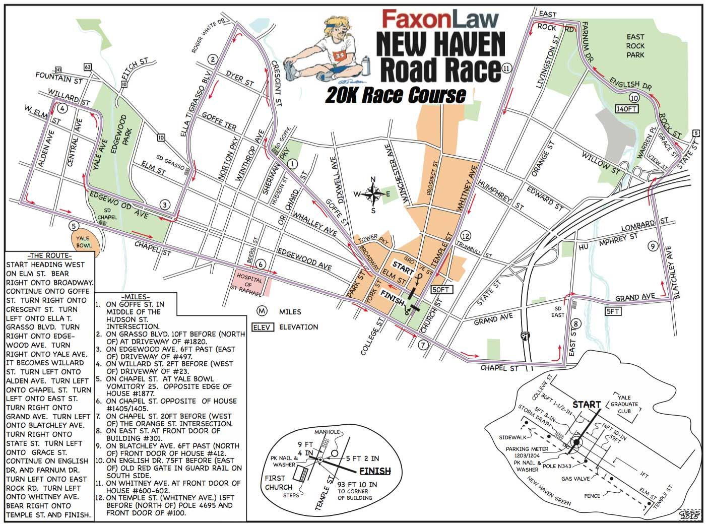 course description map faxon law group new haven road race. Black Bedroom Furniture Sets. Home Design Ideas